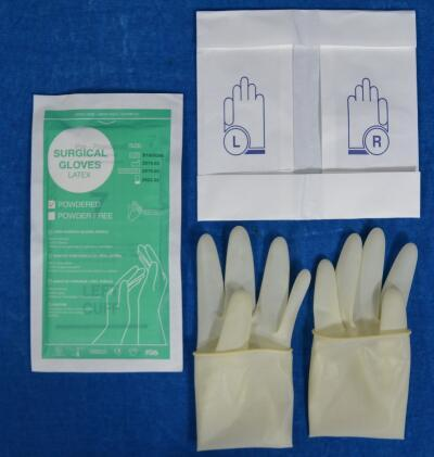 accelerator free surgical gloves